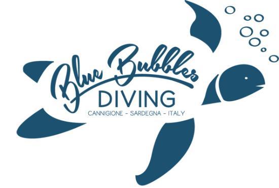 Blu Bubbles Diving : il logo ufficiale