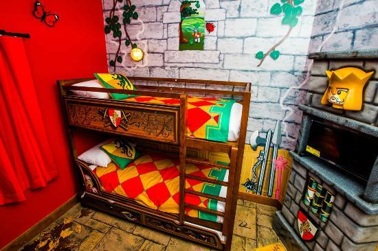 Legoland Florida Hotel Kids Sleeping Area Kingdom Room