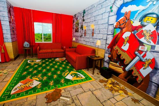Living room, Kingdom VIP Suite - Picture of LEGOLAND Florida Hotel ...