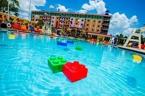 Legoland hotel pool picture of legoland florida hotel for Hotels with indoor pools in florida
