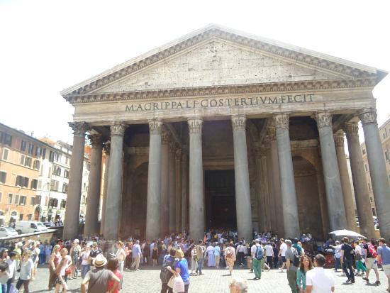 Esterno foto di pantheon roma tripadvisor for Esterno pantheon