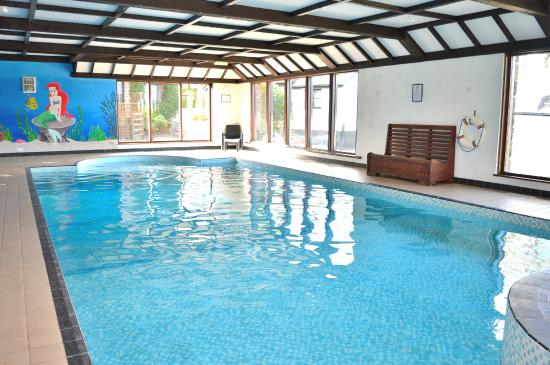 Three Gates Farm: Our 33ft indoor pool