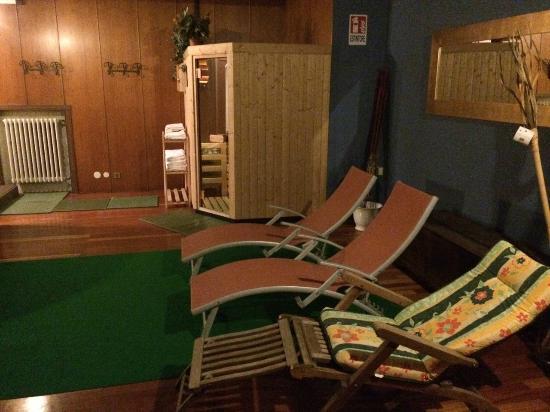 Hotel Italia: Sauna