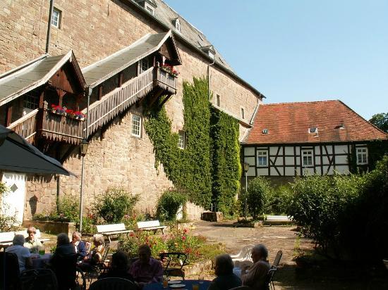 Diemelstadt, Tyskland: Schlossinnenhof