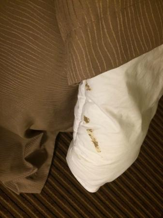 Comfort Inn & Suites: Dirty Comforter