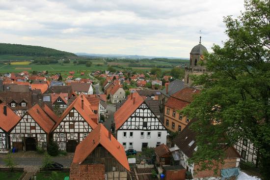 Diemelstadt, Deutschland: Teil der Altstadt von D.-Rhoden