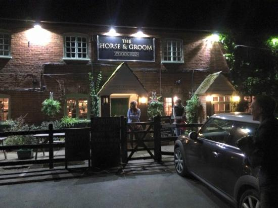 The Horse and Groom: Front