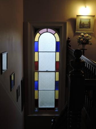 Kilmarnock House: Window and staircase