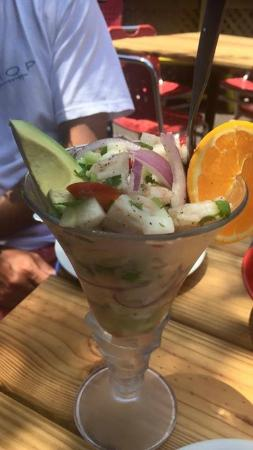 Ceviche picture of agave azul mexican cuisine miramar for Agave mexican cuisine