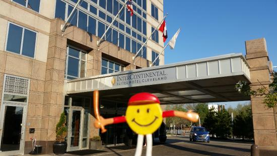 mr smiley at intercontinental suites hotel cleveland picture of rh tripadvisor ie