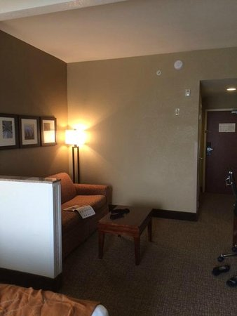 Comfort Suites South : Sitting area