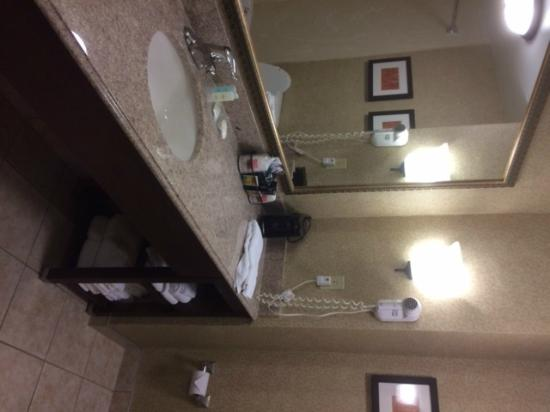 Comfort Suites South: Bathroom