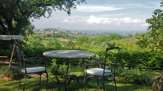 Villa Baciolo: panoramic terrace