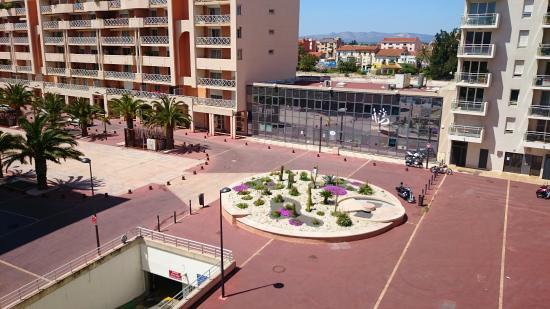 Adagio Access Perpignan : view from window