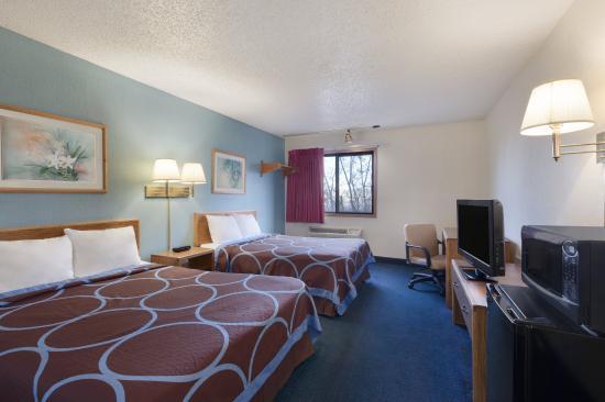 Super 8 Tucumcari: 2 Double Beds