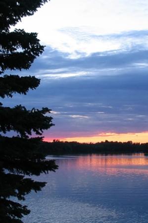 Fairmont, MN: Sunset at Ward Park
