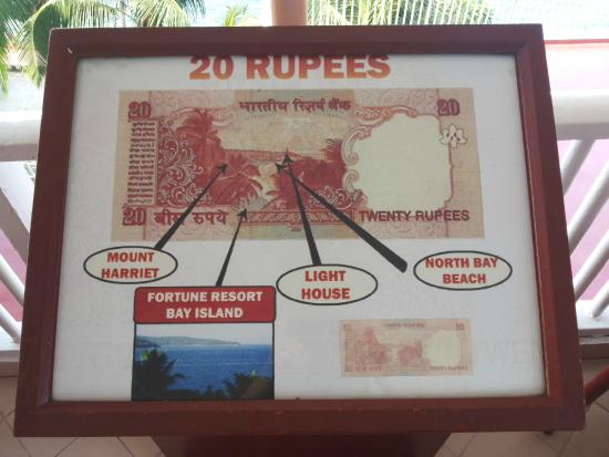 Mandalay Restaurant: 20 rs note