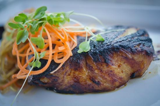 The Trophy Room at Old Kinderhook: Korean Style Chilean Seabass