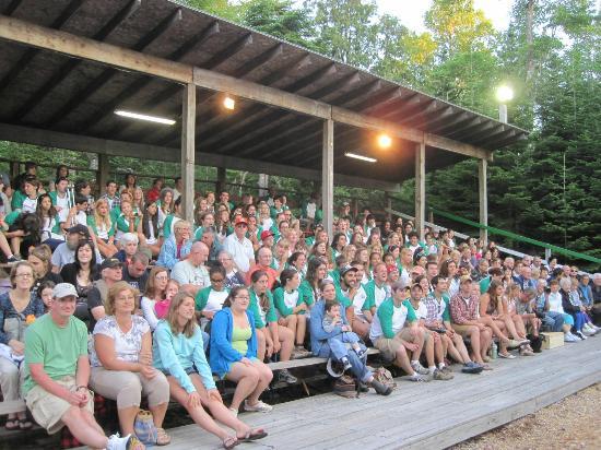 Ellsworth, Maine: Everybody loves the Lumberjack Show!