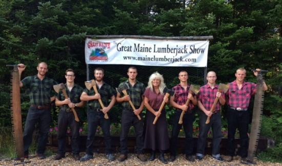 เอลส์เวิร์ท, เมน: Timber Tina and the Lumberjacks!