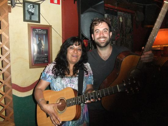 Rock Island Bar: Pam & Ear candy's Dave
