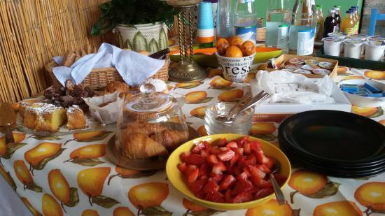 B&B Cosi Fan Tutte: colazione in terrazza