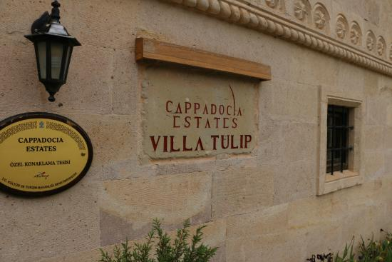 Cappadocia Estates Hotel: Entrance to the Villa Tulip