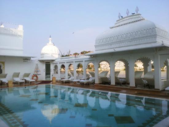 Swimming Pool Picture Of Taj Lake Palace Udaipur Udaipur Tripadvisor