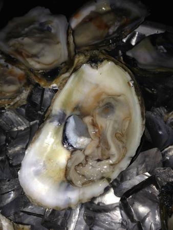 Spindleshanks: One of the partial oysters served