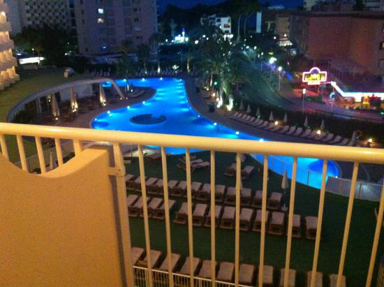 Sol Guadalupe by Melia: early evening view