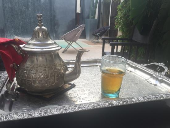 Riad Dar Massai: Thé