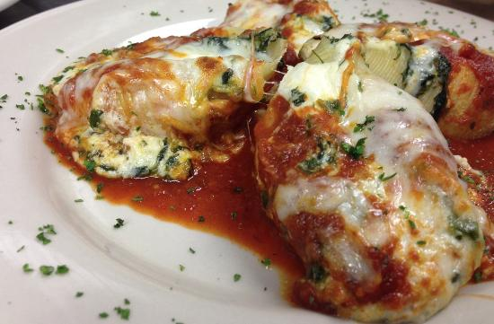 Monty's Restaurant and Pizzeria: Stuffed Shells