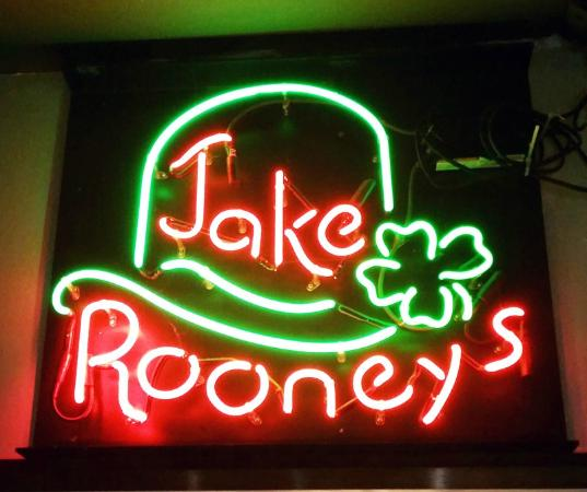 Jake Rooney's: With a hint of Irish.