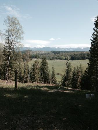 Sandpoint, ID: Looking over ranch land to the mountains