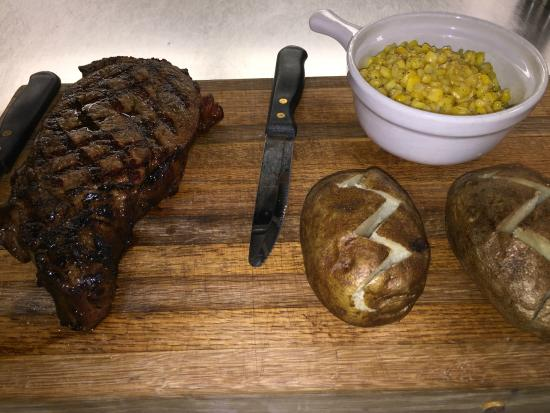 The Union Hotel: Ribeye for 2.  Certified Angus Beef