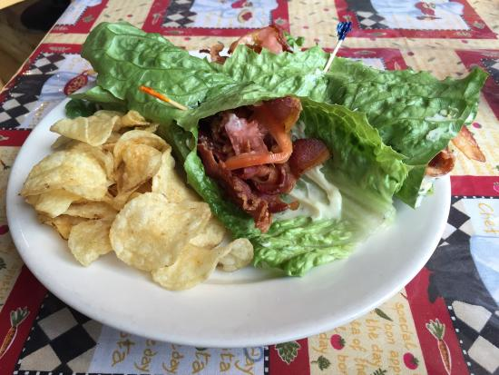 Scovie's Gourmet : This is the Scovie's BLT - gluten-free version!