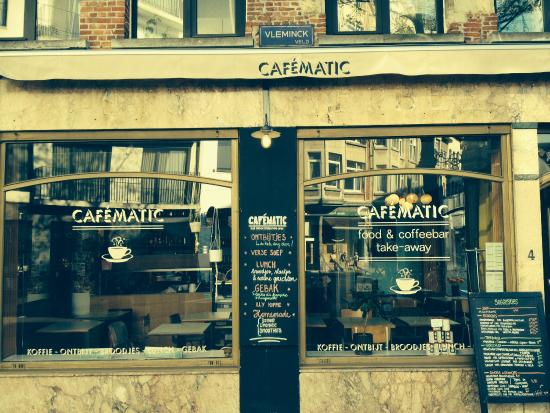 Photo of Belgian Restaurant Cafematic at Vleminckveld 2/4. 2000 Antwerpen, Antwerp 2000, Belgium