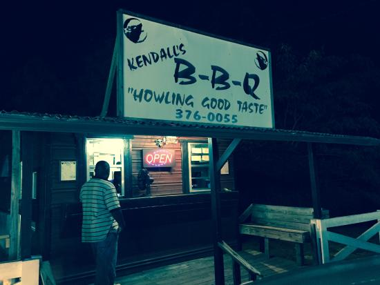 Kendall's BBQ, just off the Georgiana Interstate exit