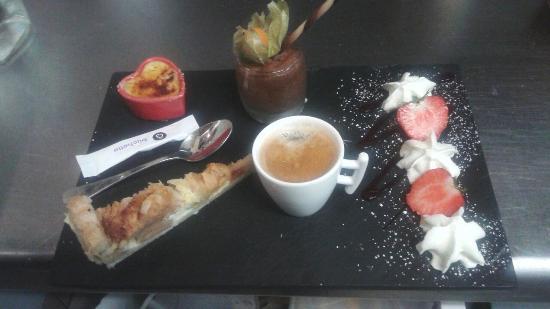 Restaurant l 39 ardoise gourmande dans vimoutiers avec cuisine barbecue grillades - Service cafe gourmand ardoise ...