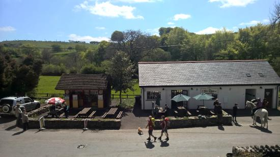 Withypool Tea Rooms: Spring time