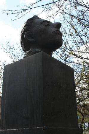 Osip Mandelstam Statue