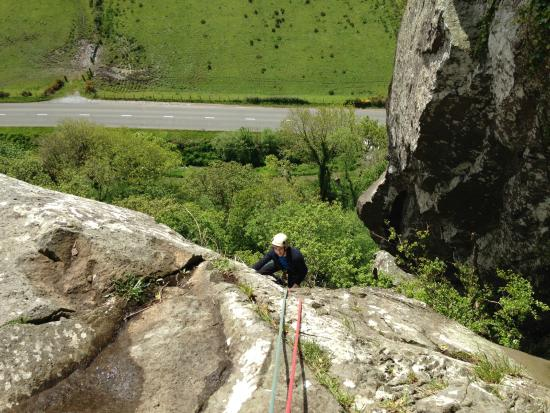 Terry James Walker Rock Climbing: Climbing with Terry at Tremadog