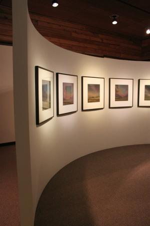 Ames, IA: Brunnier Art Museum art exhibit.