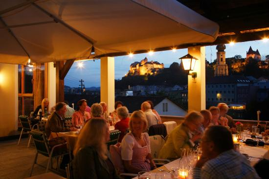 Ach, Österrike: Terrasse
