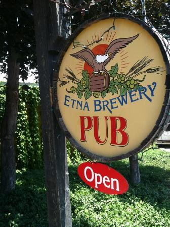 Etna, CA: Brewery