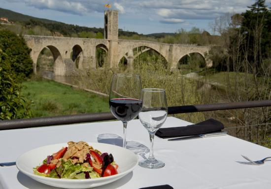 Restaurant Curia Reial SL. : Vista panoràmica des del Restaurant