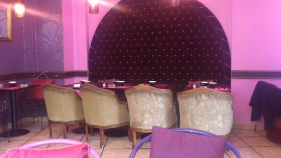 la banquette : Vue intérieure