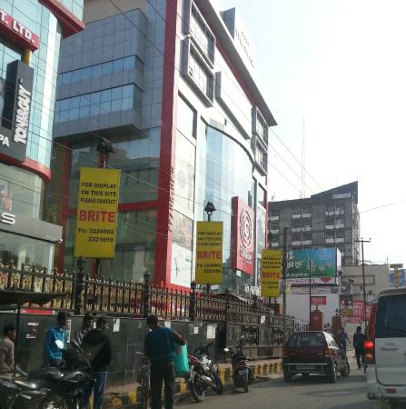 Patna, Indien: the Mall