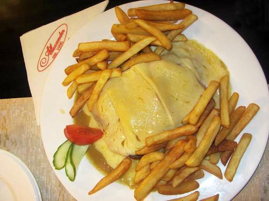 Bistro Alexander: Вкусное блюдо