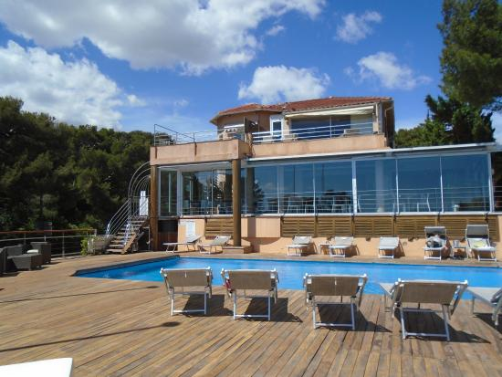 La Terrasse Picture Of Best Western Plus La Rade Cassis